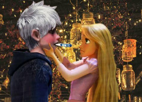 imagenes de jack y rapunzel jack frost and rapunzel by retrochick80 on deviantart