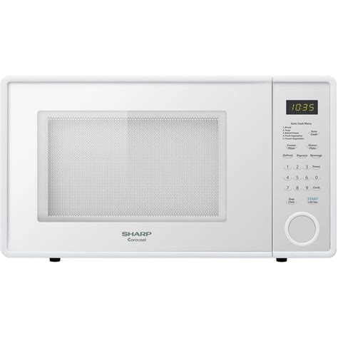Sharp Microwave Ovens Countertop by Sharp Microwave Ovens 1 1 Cu Ft Countertop Microwave In