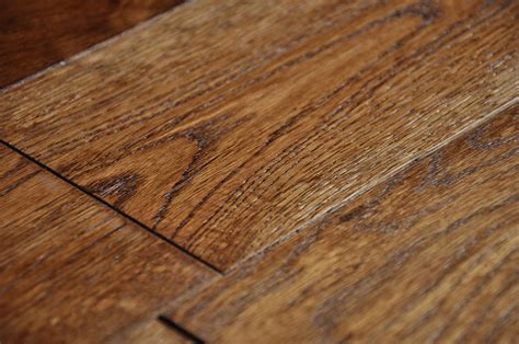 brushed smoked coffee 18x125mm real solid wood