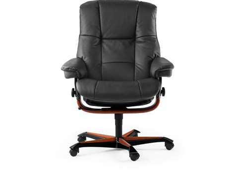 comfortable home office chair stressless 174 mayfair home office chair