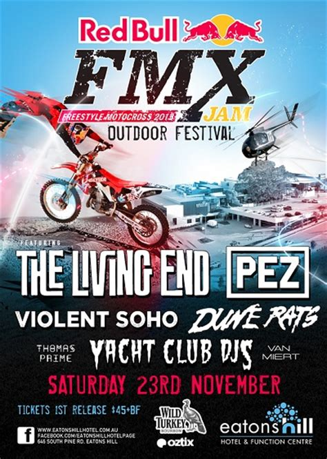 freestyle motocross tickets oztix bull fmx festival tickets info