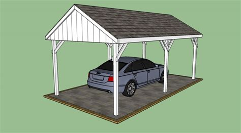carport plan free carport plans howtospecialist how to build step by step diy plans