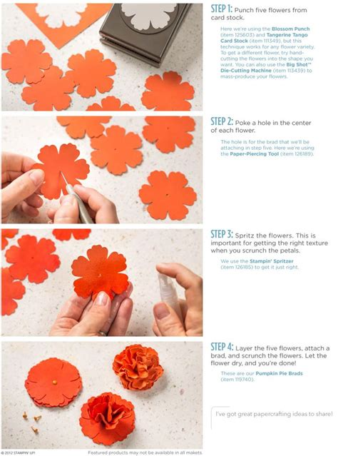 paper punch flower tutorial 86 best paper flowers images on pinterest paper flowers