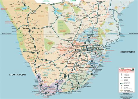 southern africa map south africa world map