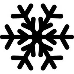 Winter Gardening Jobs - frost christmas holiday freezing snowflake winter frozen cold snow icon