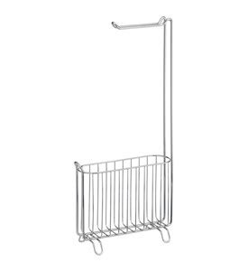 Narrow Width Stands Narrow Toilet Paper Stand And Magazine Rack In Toilet