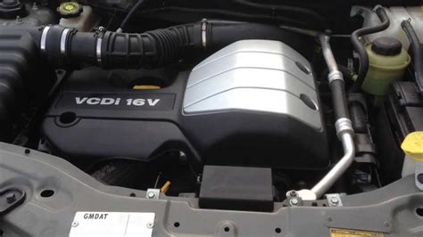 5497 Fan Chevrolet Captiva 2 0 stock a5139 holden captiva 2 0 turbo diesel engine z20si auto 06 11