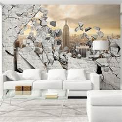 3d wandbilder wohnzimmer vlies tapete top fototapete wandbilder 350x245