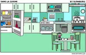 la classe de fran 231 ais dans la cuisine objets de la