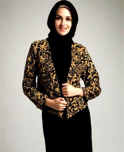 inspirasi desain baju batik desain model blazer wanita terbaru info tren baju