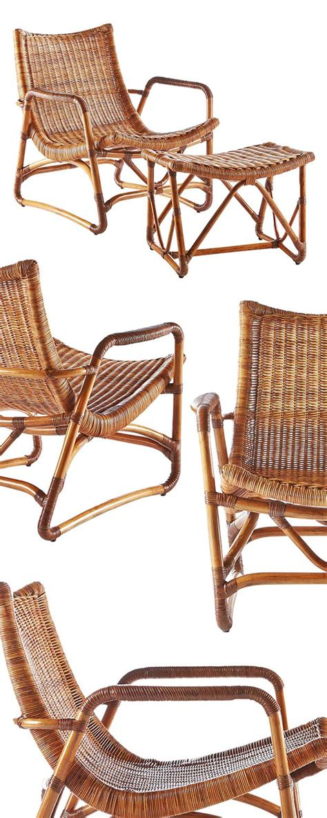 rattan armchair and ottoman 25 best ideas about chair and ottoman on pinterest