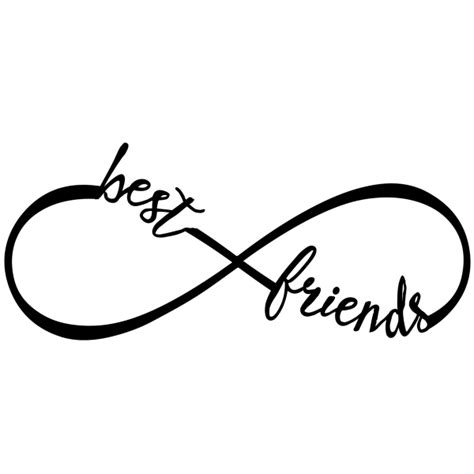 infinity tattoo png infinito best friends lineartistica