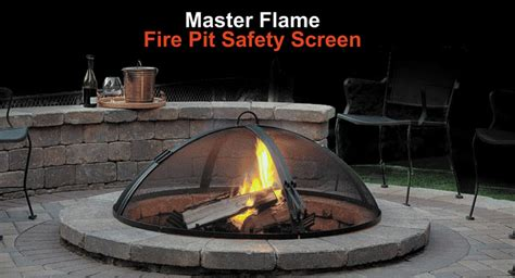 outdoor hearth accessories area landscape supply - Pit Safety Screen