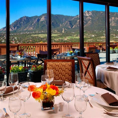 mountain view restaurant  cheyenne mountain colorado