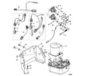 trim assembly complete mercruiser parts mercury performance 96158t solenoid