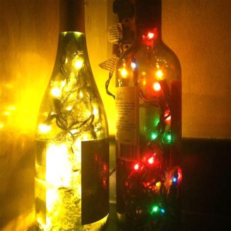 diy light up wine bottle diy wine bottle lights diy pinterest