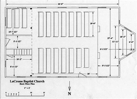 floor plan of a church church floor plans