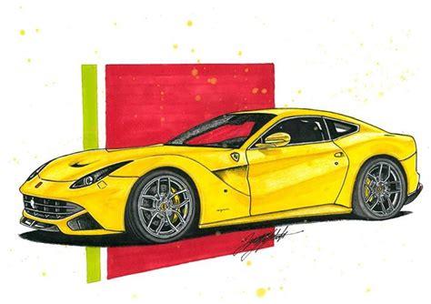 ferrari front drawing custom ferrari enzo ferrari enzo custom twin 2014 by
