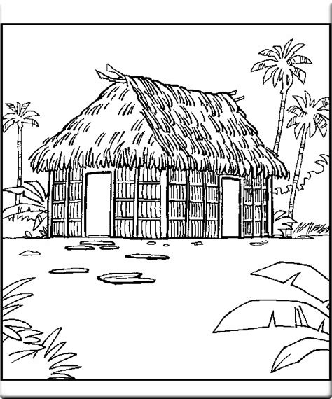 printable house image coloring house pages free printable coloring pages house
