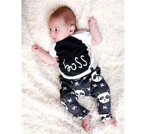 Baby 3in1 2shirt 1pant 2015 new fashion baby clothing set sleeve t shirt 2pcs suit panda pattern