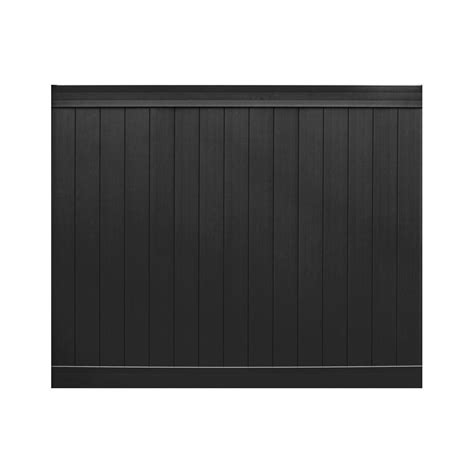 pro veranda veranda pro series 3 in x 6 ft h x 8 ft w black vinyl