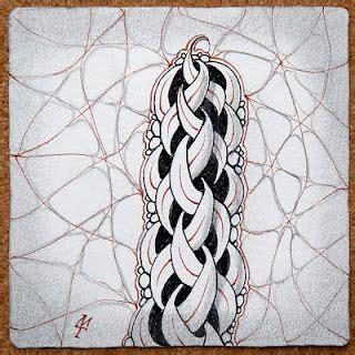 zentangle braid pattern zentangle braid quot draws quot me in pinterest