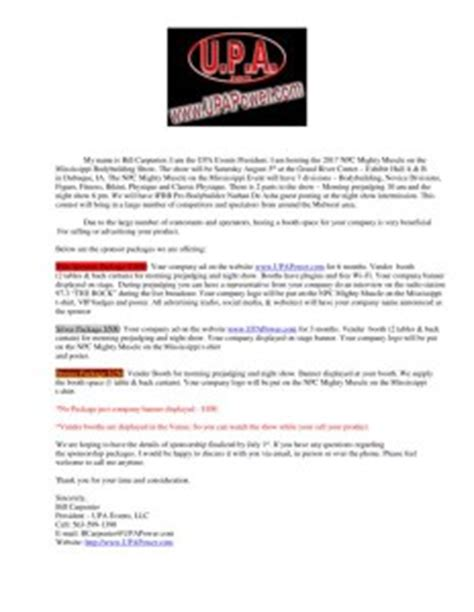 Sponsorship Letter Bodybuilding 2017 Npc Mighty On The Mississippi Sponsor Packages Upa Events