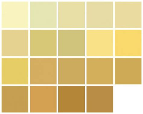 farrow paint yellow and orange colors row left to right lancaster yellow pale