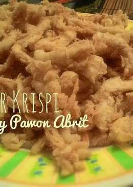 jamur crispy  resep cookpad