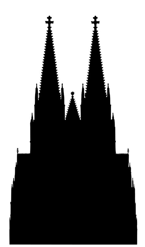 File:CologneCathedralSilhouette.svg - Wikimedia Commons
