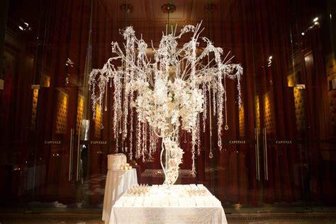 The Hidden Garden Enhance Your Wedding D 233 Cor With Trees Tree Centerpieces For Weddings