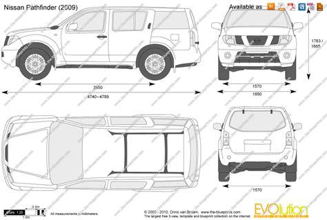the blueprints com vector drawing nissan pathfinder