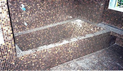 vasca mosaico vasca in da letto vasca idromassaggio piccole
