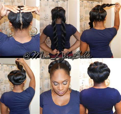 how to pack hair to different styles cute black hair information