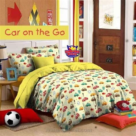 Sprei Uk 120 T 20 Cm Motif Orange Mix Hitam sprei cars on the go kuning uk 120 t 25cm