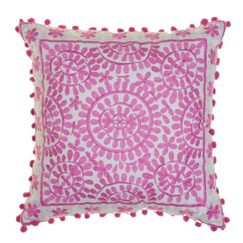 Bombay Home Decor by Souk Embroidered Cushions Square Objects Pinterest