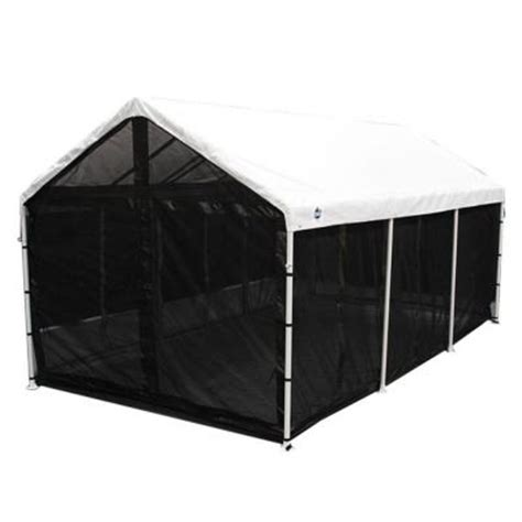 screen house with floor king canopy bug screen room with floor csr1020bk the
