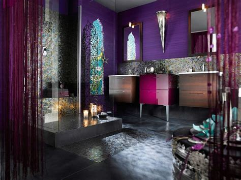 curtains for purple walls moroccan bathroom ideas for your unique personality