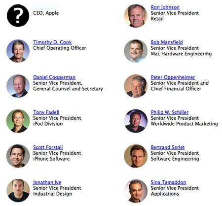 apple executives who will be the next steve jobs ars technica