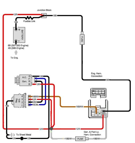 one wire alternator wiring diagram chevy 1 wire alternator wiring diagram for 1970 chevy truck