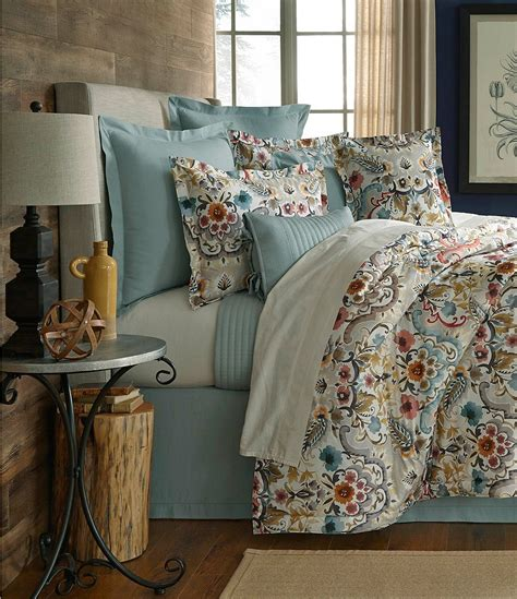 noble excellence down comforter villa by noble excellence liana floral percale comforter