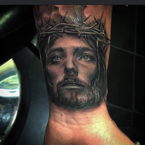 jesus wrist tattoo images jesus on wrist best ideas gallery