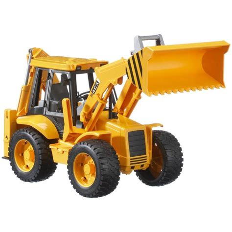 bruder toys bruder toys 02428 pro series jcb 4cx c w loader backhoe