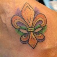 fleur de lis black ink tattooimages biz black ink small fleur de lis on foot tattooimages biz