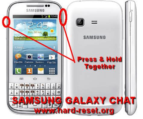 reset samsung battery how to easily master format samsung galaxy chat gt b5330
