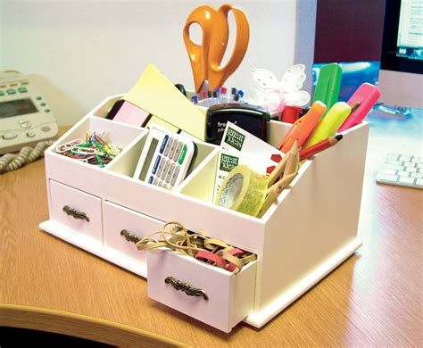 Desk Tidy Images by Wooden Desk Tidy Cosmetics Organiser Caddy Pen Holder Tidy