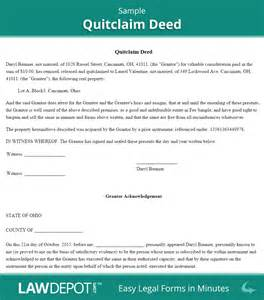 Quitclaim Deed Template by Quitclaim Deed Free Quitclaim Deed Form Us Lawdepot