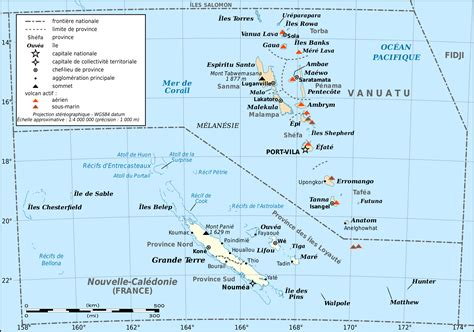 map of new caledonia and australia large detailed map of new caledonia and vanuatu new
