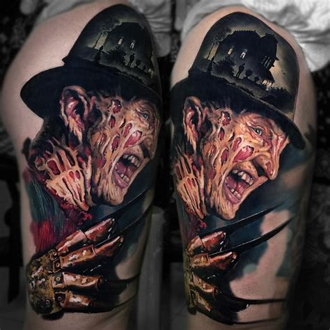 freddy tattoos design freddy krueger tats freddy krueger