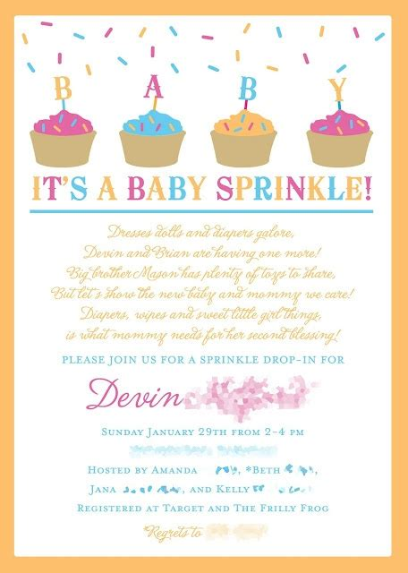 What Is A Sprinkle Baby Shower by A Baby Sprinkle Instead Of A Baby Shower Like This Idea